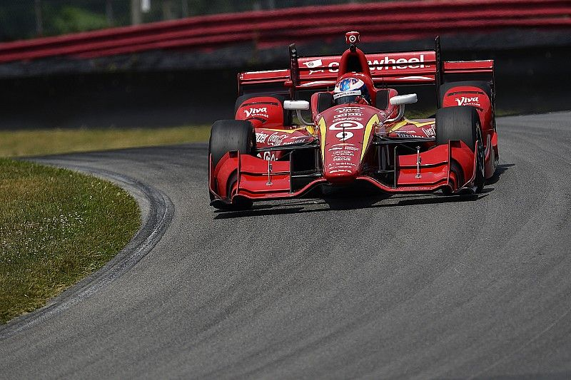 Dixon fastest in first practice