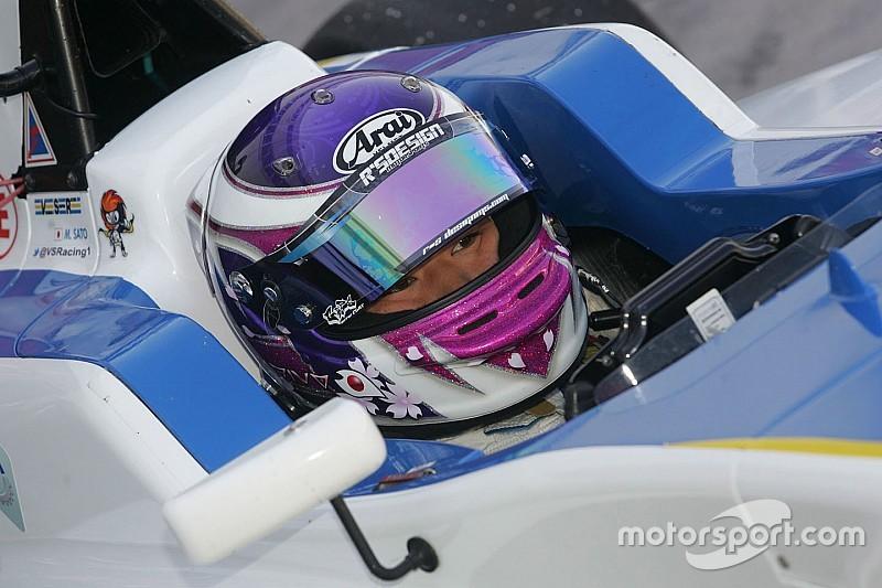 Marino Sato signe en F3 chez Motopark