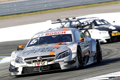 Mercedes' Robert Wickens places second in season opener at Hockenheim