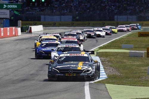 Mercedes' Paul Di Resta dominated the second race at Hockenheim