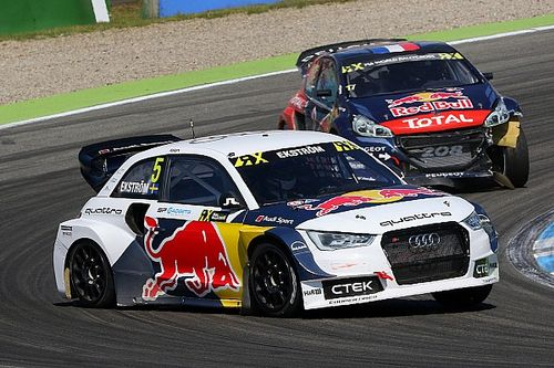 Hockenheim WRX: Ekstrom leads Day 1, Loeb languishing outside top 10