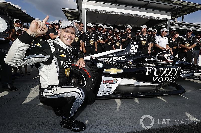 Indy 500: Carpenter bate a los Penske, y consigue su tercera pole