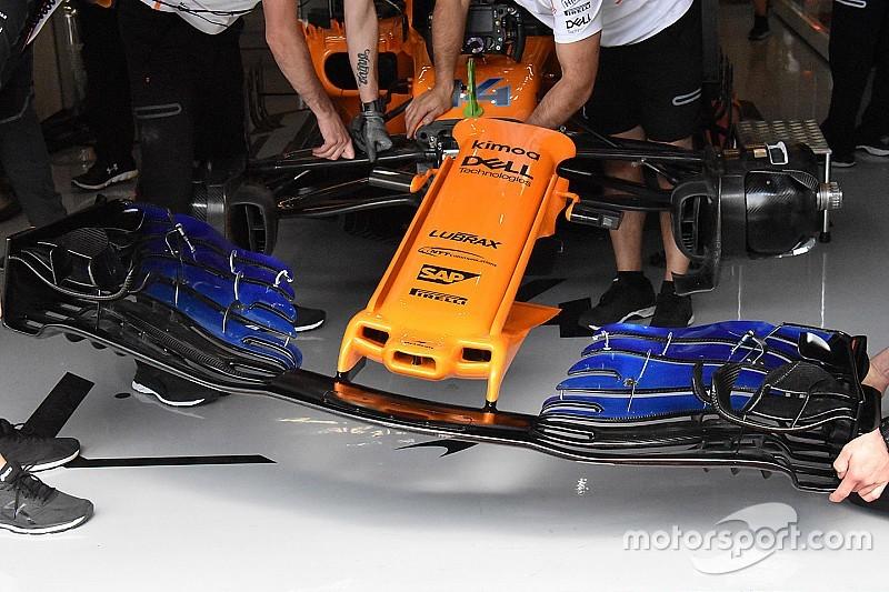Análisis: la esperada actualización de McLaren para el GP de España