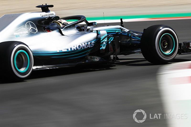 """Hamilton végzett az élen délután Ricciardo előtt Barcelonában: Räikkönen """"elfüstölt"""""""