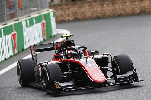 Расселл прорвался к первой победе в Формуле 2