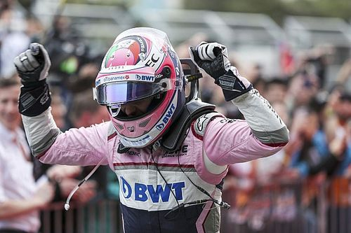 بيريز يحتفظ بمنصة التتويج التي أحرزها في سباق باكو
