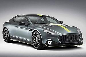 Automotive Breaking news Aston Martin Rapide AMR packs 580bhp, gets carbon fiber body