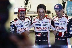 Nakajima signe la pole position de Toyota au Mans