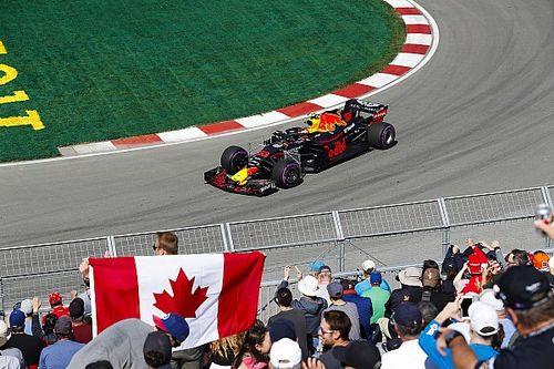 Verstappen é mais rápido do TL1 no Canadá