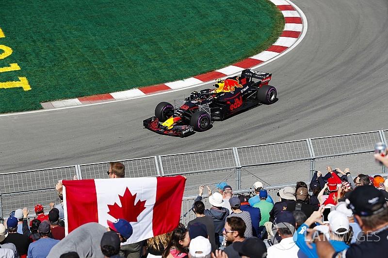 Ферстаппен стал лучшим в первой тренировке Гран При Канады