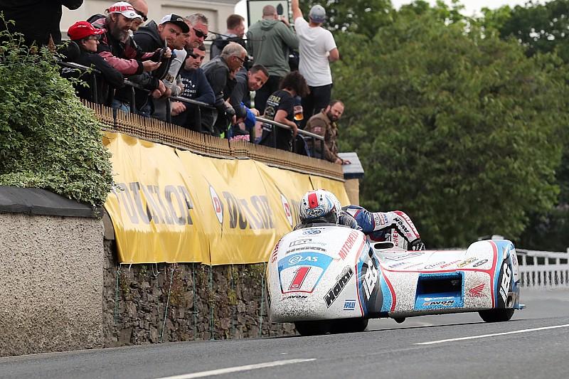 Isle of Man TT: Birchall'lar yeni bir rekor ile Sidecar'da ikinci kez zafere ulaştılar