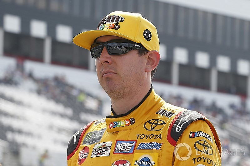 Kyle Busch can't seem to pick the right pit strategy at Pocono