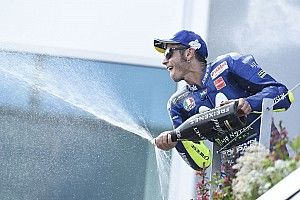 """Rossi: """"Queremos volver al podio"""""""