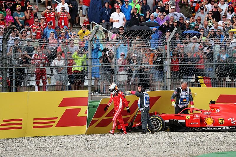 Ferrari: l'errore di Vettel ha un peso specifico importante, Hamilton ne ha approfittato