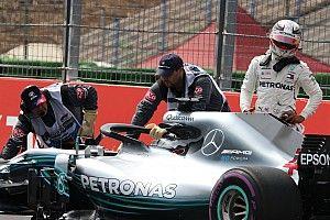 Hamilton no cree que Mercedes falle por la presión de Ferrari