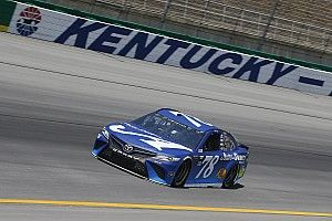 Martin Truex Jr. sweeps the first two stages at Kentucky