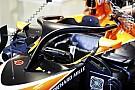 La F1 podría colocar una pantalla LED en el Halo