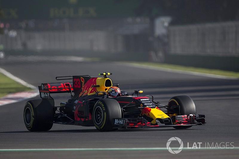Verstappen lidera apertado terceiro treino livre no México