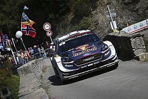 WRC Отчет о секции Ожье выиграл Ралли Франция