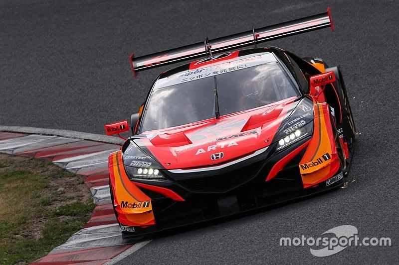 Suzuka Super GT: ARTA Honda scores pole, Button on front row