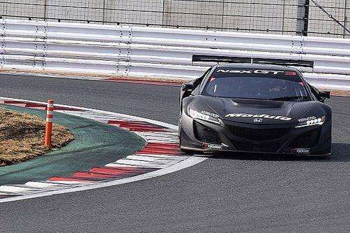 A brutális Honda NSX GT3 tesztelés közben – Button gépe
