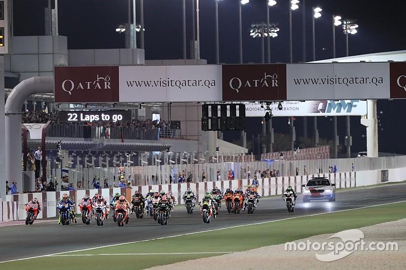 Уявна стартова решітка за результатами тестів у Катарі