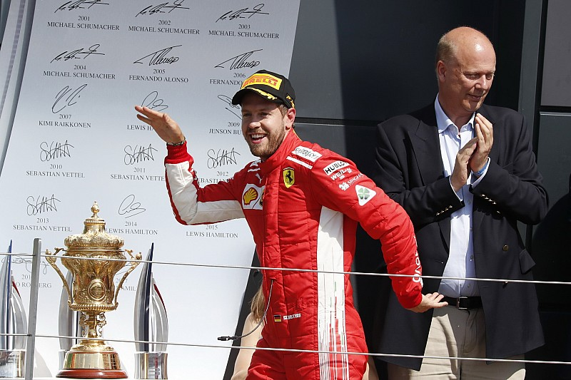 Las mejores fotos del GP de Gran Bretaña de F1