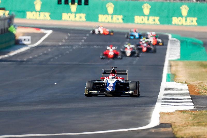 Пике впервые выиграл гонку GP3