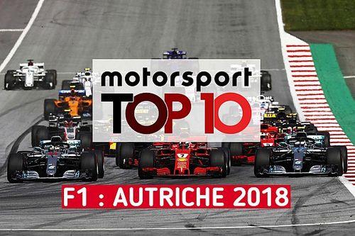 Vidéo - Le top 10 du GP d'Autriche