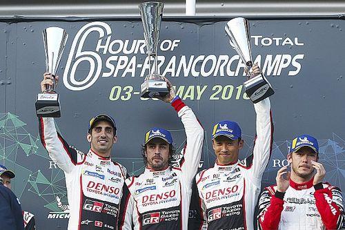 Алонсо выиграл свою дебютную гонку в WEC