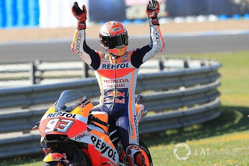 Marquez domina a Jerez, ma le Ducati si fanno un pesante autogoal