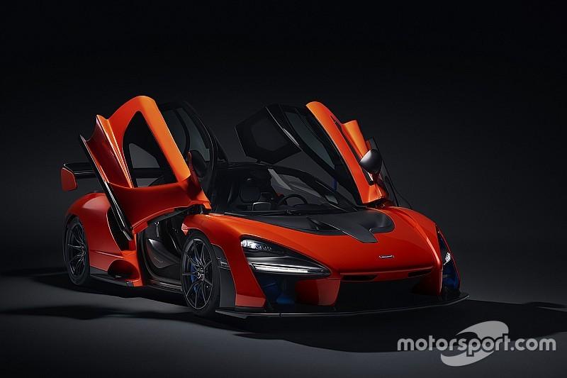 McLaren назвала новый дорожный гиперкар в честь Айртона Сенны