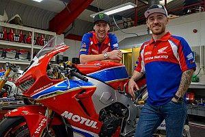 Honda, nuova line up: Hutchinson e Johnston in sella alla Fireblade