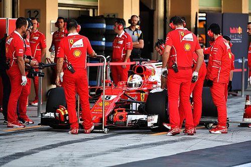 Vettel snelste in ochtendsessie tweede testdag, Verstappen P5