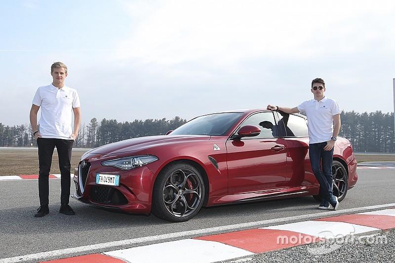 Відео: Шарль Леклер протестував Alfa Romeo