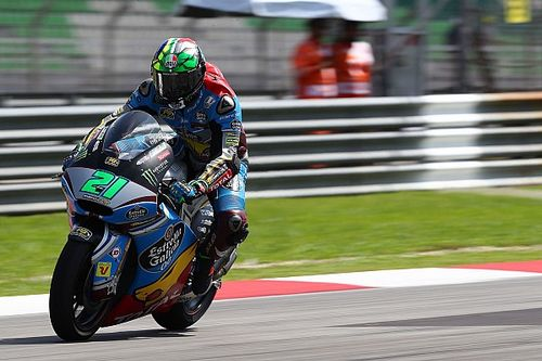 Morbidelli seals Moto2 title as Luthi declared unfit for Sepang
