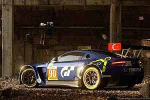 eSports Son dakika Salih Yoluç'un Aston Martin Vantage'ı Gran Tourismo Sport'da