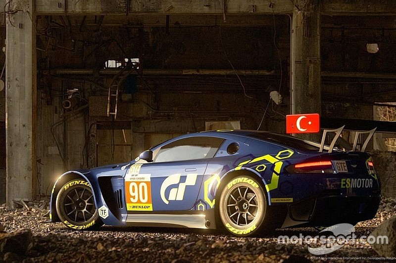 Salih Yoluç'un Aston Martin Vantage'ı Gran Tourismo Sport'da