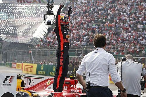 """Verstappen geniet van overwinning: """"Na vorige week extra lekker"""""""