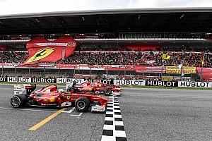 Ferrari Diaporama Quand les F1 historiques de Ferrari sont de sortie!