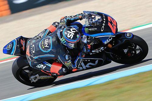 Moto2 Assen: Bagnaia aan kop in derde training