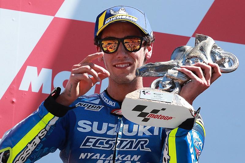 """Rins: """"La Suzuki funziona molto bene, la vittoria arriverà presto"""""""