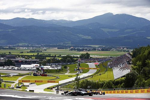 Austrian GP: Top photos from Friday