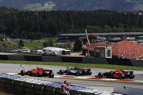 فيرشتابن كاد أن يقع ضحية ظروف مختلفة في بداية سباق النمسا