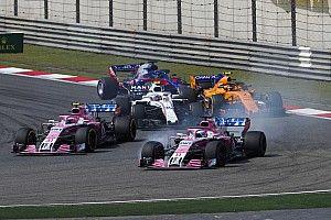 """Force India a sus pilotos: """"Mejor sacar de pista a un rival que a un compañero"""""""