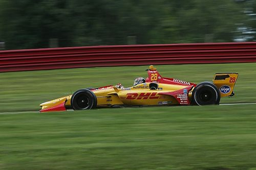 Mid-Ohio IndyCar: Hunter-Reay leads Power in FP2