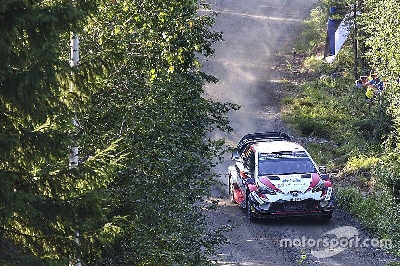 Finland WRC: Tanak stretches lead on Saturday morning