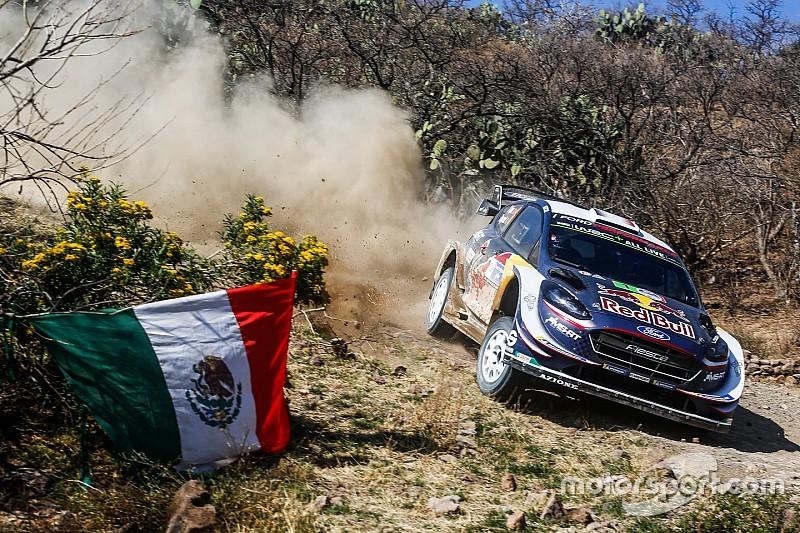 Loeb incanta al rientro nel WRC, ma il Rally del Messico va a Ogier