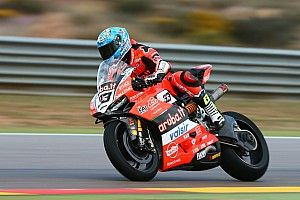 Aragon WSBK: Melandri edges Rea in Friday practice