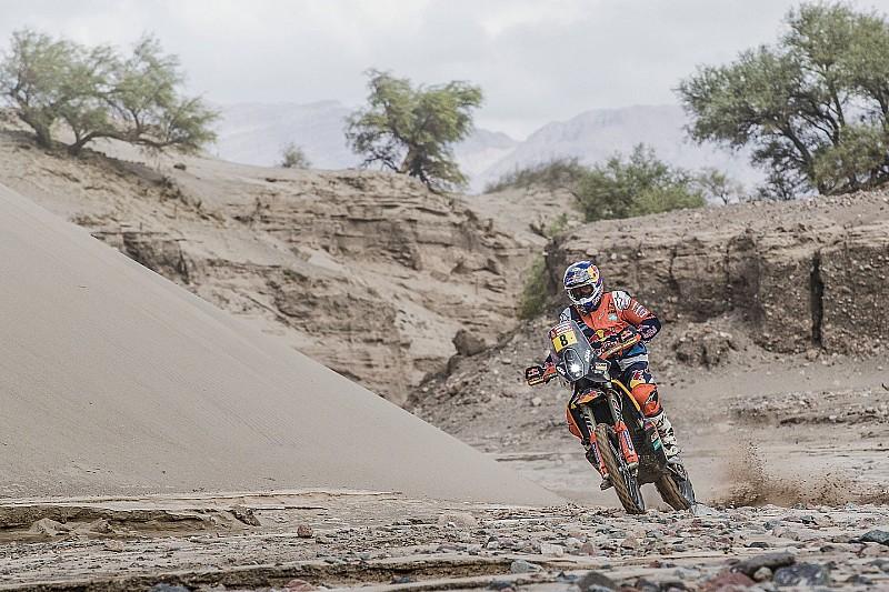 Dakar cancela estágio 12 para motos e quadriciclos